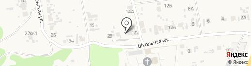 Волжская районная станция по борьбе с болезнями животных на карте Воскресенки