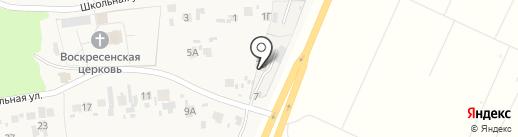 Торгово-сервисная компания на карте Воскресенки