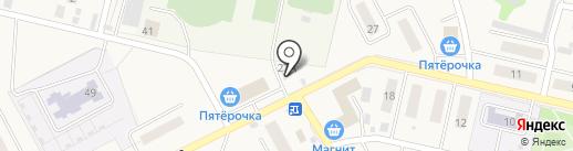 Московская ярмарка на карте Курумоча