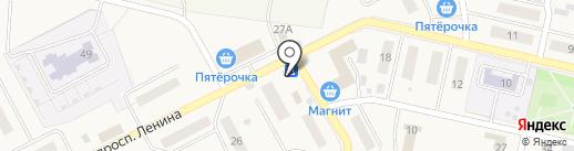 Магазин продуктов на карте Курумоча