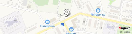 Киоск по продаже хлебобулочных изделий на карте Курумоча