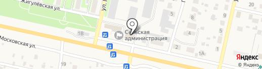 Приосколье-Самара на карте Курумоча