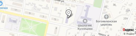Библиотека на карте Курумоча