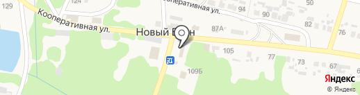 Людмила на карте Нового Буяна