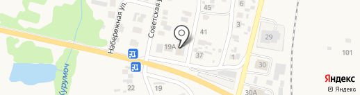 Магазин строительных материалов на карте Курумоча