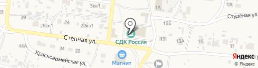 Россия на карте Нового Буяна