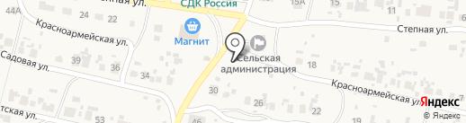 Администрация сельского поселения Новый Буян на карте Нового Буяна