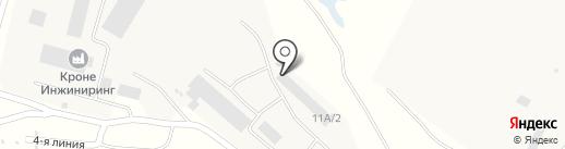 ГОСТ-ОКНО на карте Подстепновки