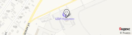 Губернская на карте Курумоча
