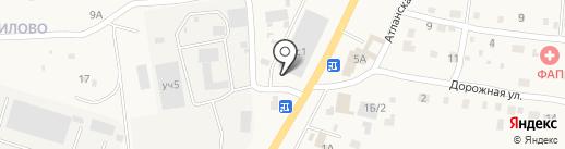 Магазин автозапчастей на карте Подстепновки