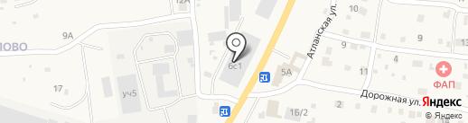 Магазин автозапчастей для иномарок на карте Подстепновки
