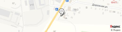 Шиномонтажная мастерская на Дорожной на карте Подстепновки
