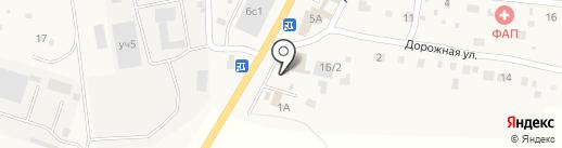 Автомойка на Дорожной на карте Подстепновки