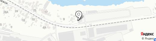 Дирекция погрузо-разгрузочных работ на карте Самары