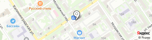 Хлеб Михайловский на карте Самары
