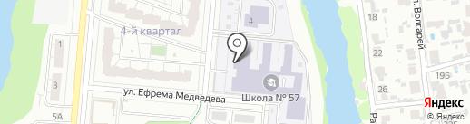 Волгарь на карте Самары