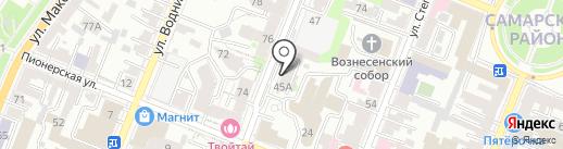 ТСС на карте Самары