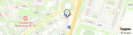 Кругаль на карте Самары