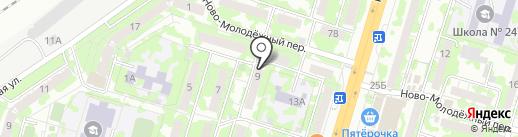 Grase на карте Самары