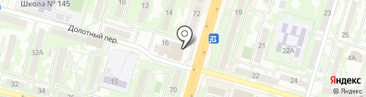 Стрекоза на карте Самары