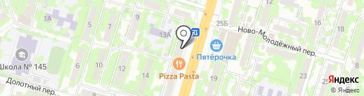 Промсвязьбанк, ПАО на карте Самары