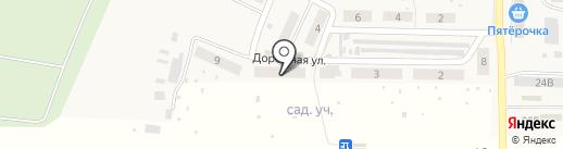 Магазин продуктов на карте Верхней Подстепновки