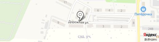 Подсолнух на карте Верхней Подстепновки