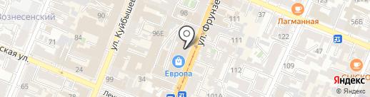 Магазин текстиля на карте Самары