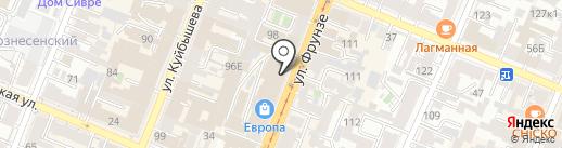 Магазин мяса и полуфабрикатов на карте Самары
