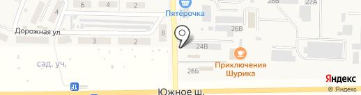 Родниковый источник на карте Верхней Подстепновки