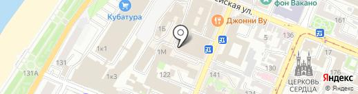 Волна на карте Самары