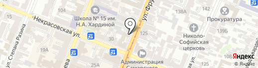 МАЦА на карте Самары