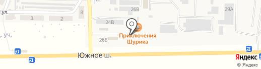 Приключение Шурика на карте Верхней Подстепновки