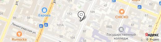 NetLine на карте Самары