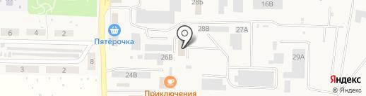 БурСвязьСтрой на карте Верхней Подстепновки
