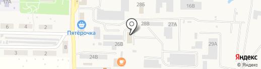 БКГ на карте Верхней Подстепновки