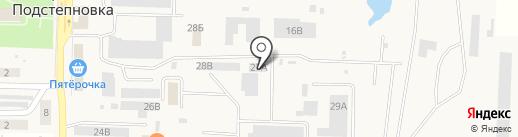 БурСвязьКомплект на карте Верхней Подстепновки