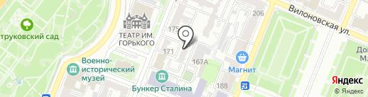 Стэп на карте Самары