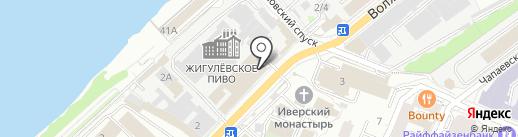 Щербанева В.Н. на карте Самары