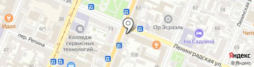 Компания по аренде помещений на карте Самары