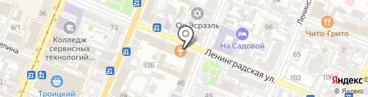 ЭНИГМА на карте Самары