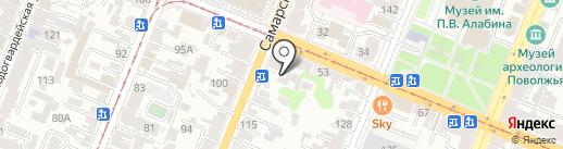 Мастерская по ремонту компьютеров и ноутбуков на карте Самары
