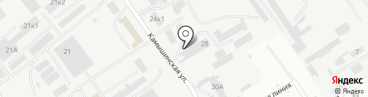Лили на карте Самары