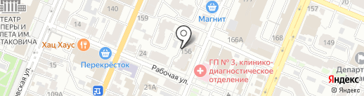 КБ ТАЙМ на карте Самары