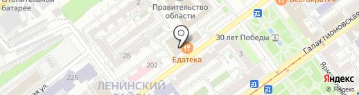 Лицензионный контроль на карте Самары