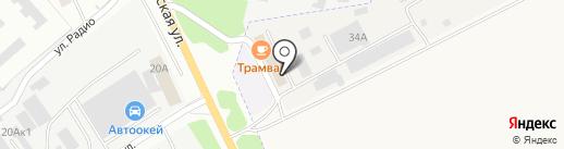 Автотехцентр на карте Самары
