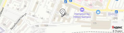 ДСВ на карте Самары