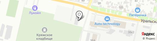 Благоустройство, МП на карте Самары