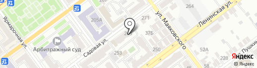Квестком на карте Самары