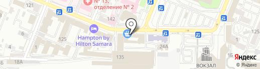 Федеральное бюро недвижимости на карте Самары